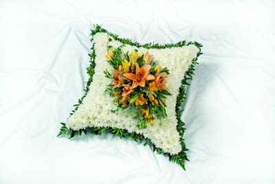 Foliage edged Cushion from 80.00