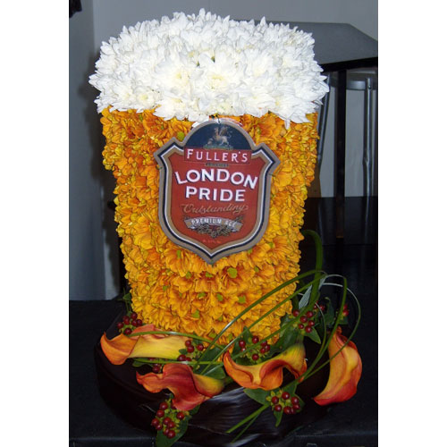 A pint of London Pride 3d 200.00