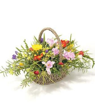 Freesia basket from 29.95