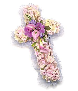 Hydrangea cross from 90.00