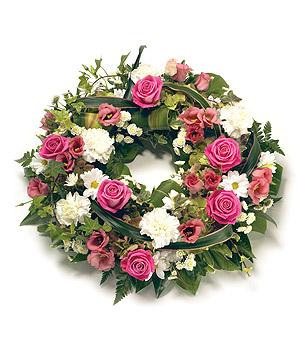 Pretty wreath from 54.95