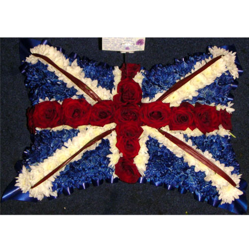 Union Jack Pillow 125.00