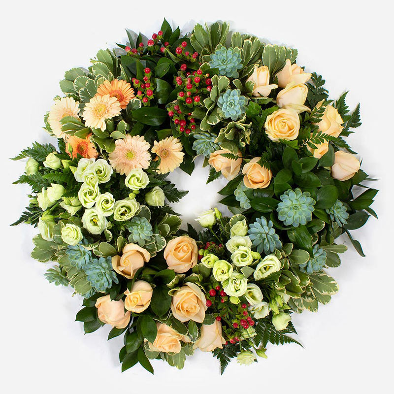 Eco wreath fr 125.00